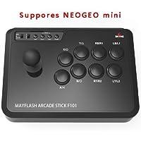 Mayflash アーケードスティック F101 NEOGEO mini/ PS3/PC/Android/Nintendo Switch対応 [日本正規品]