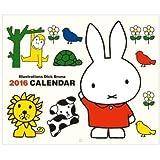 【ミッフィー】ウォール式カレンダー【2016年カレンダー】【壁掛け】[000587]