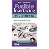 "Make It Simpler Fusible Interfacing: 1 1/2"" X 15 Yard Roll"