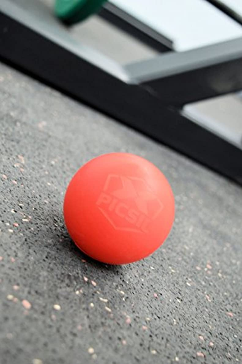 惨めなデジタル事前にPICSIL Massage Ball Stretch Ball Trigger Point Fascial Release Training Back Stiff Shoulders Back Calf Feet Massaging