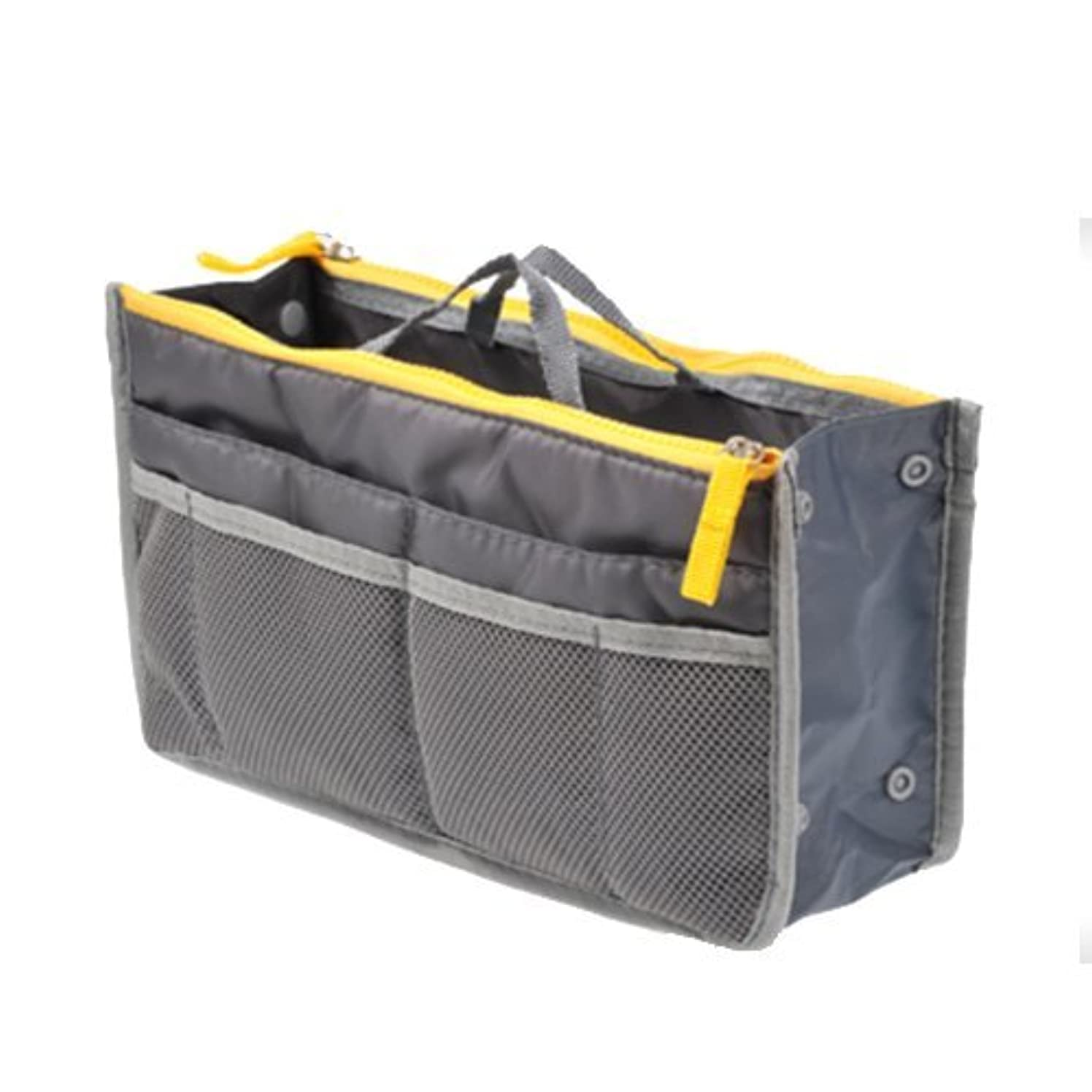 マーガレットミッチェルエトナ山イライラするTENDOC 高品質 バッグでバッグを簡単収納 お財布 携帯などの必需品から手帳やペンもピッタリサイズ グレー