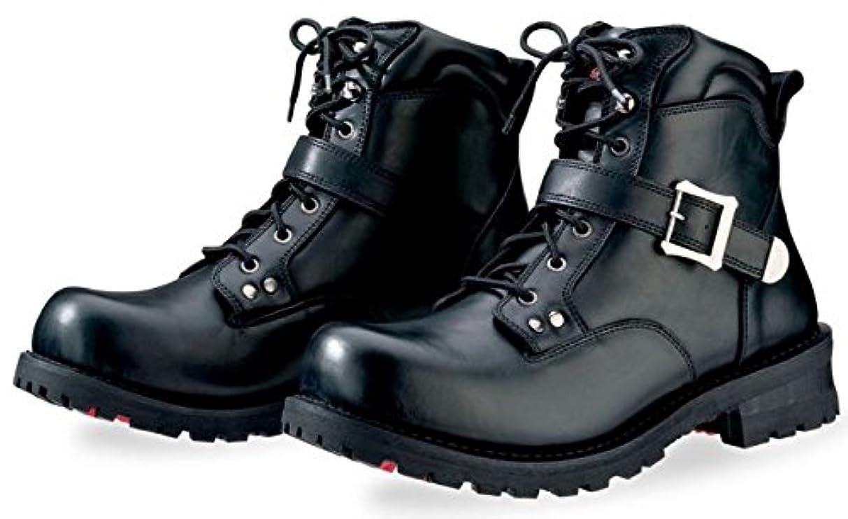 生活ラケット形Z1R ゼットワンアール Trekker Boots ライディングブーツ ブラック 11.5(約30cm)