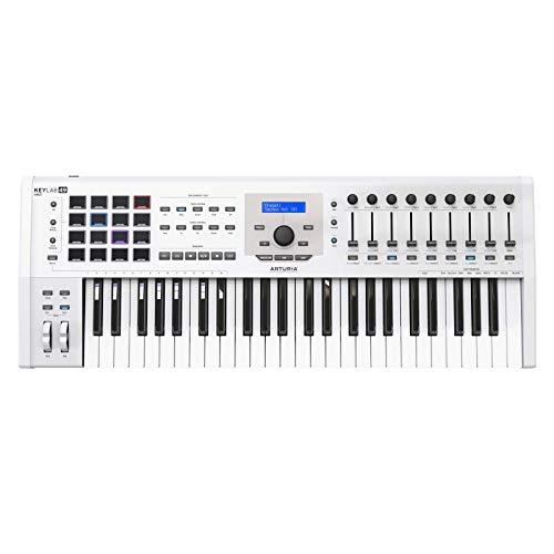 Arturia キーボード・コントローラー KeyLab mkII 49鍵盤 ホワイト