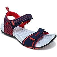 SPARX Women Navy Blue Red Sports Sandal