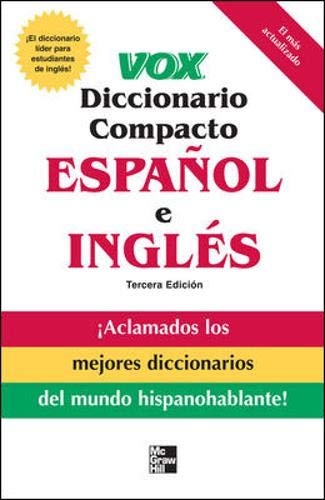 Download Vox diccionario compacto español e ingles, 3E  (PB) (VOX Dictionary Series) 0071499490