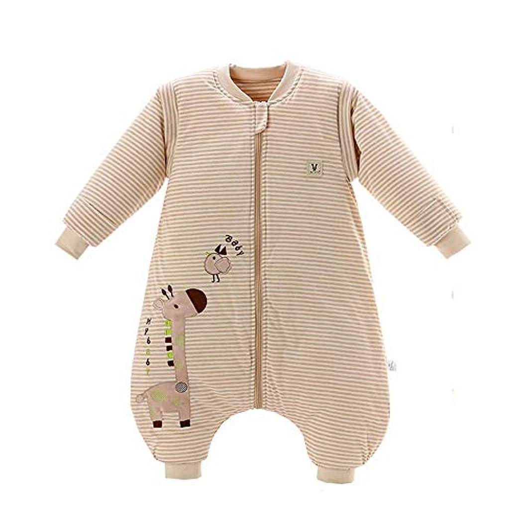発信見捨てる平等ベビー寝袋 取り外し可能な長袖のパジャマの巣中立眠っている赤ちゃんの睡眠の摩耗の綿毛布 新生児睡眠カプセル (色 : As picture, サイズ : L)