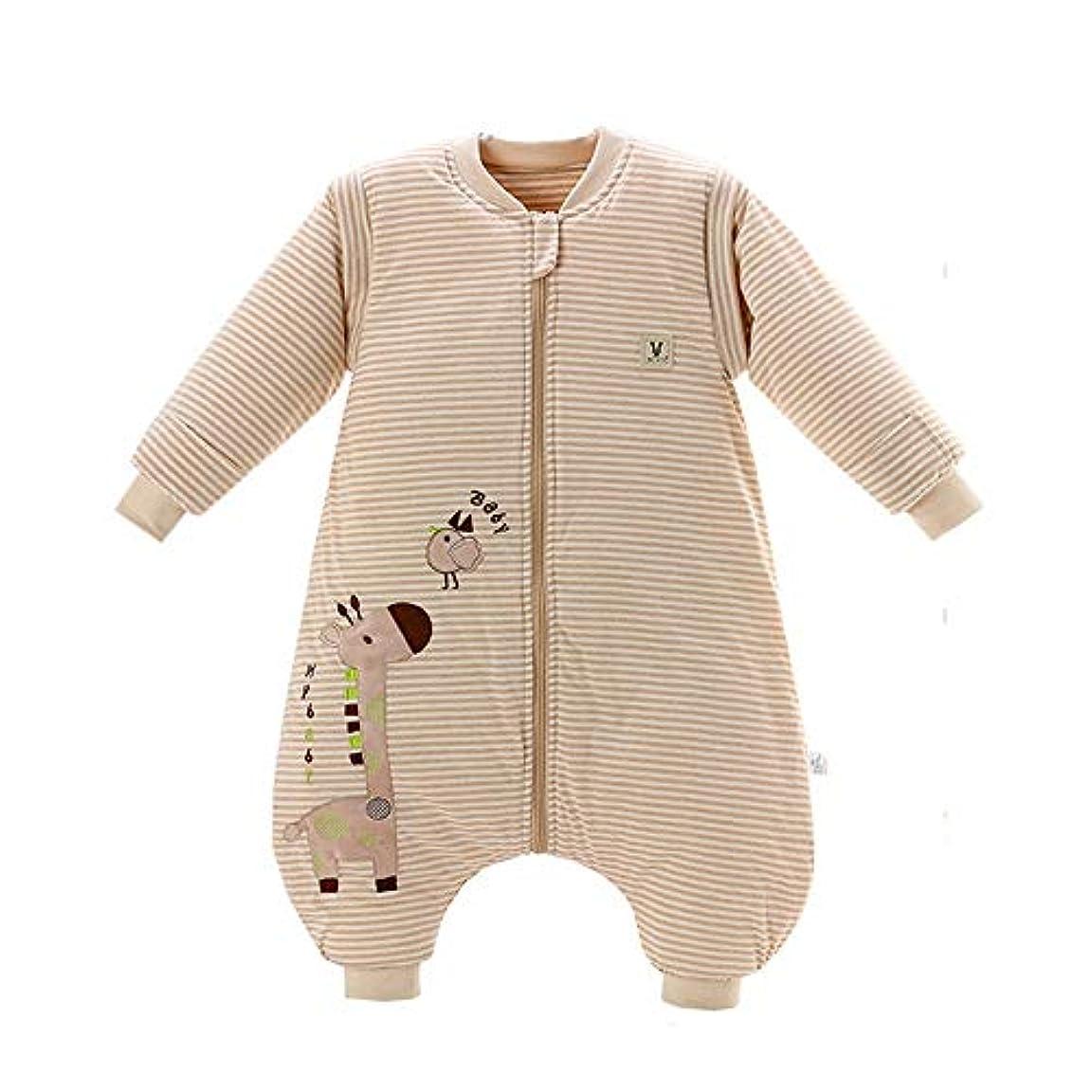 斧威する伝統ベビー寝袋 取り外し可能な長袖のパジャマの巣中立眠っている赤ちゃんの睡眠の摩耗の綿毛布 新生児睡眠カプセル (色 : As picture, サイズ : L)