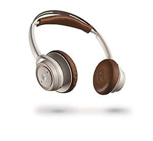 【国内正規品】 PLANTRONICS 両耳 Bluetooth ワイヤレス ステレオヘッドセット(ヘッドホンタイプ) BackBeat SENSE White  BACKBEATSENSE-W