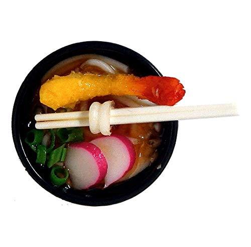 天ぷらうどんマグネット(食品サンプルのミニチュア)