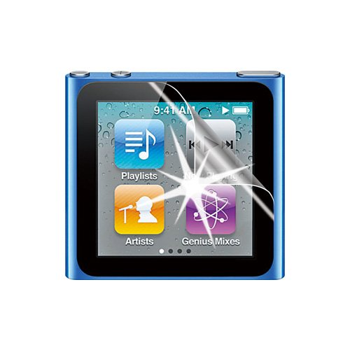 アスデック 【ノングレア画面保護フィルム】 apple iPod nano 第6世代用(2枚入) 簡易台紙