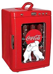 コカコーラ デザインミニ冷蔵庫 28缶容量 -LED Display- 【並行輸入品】