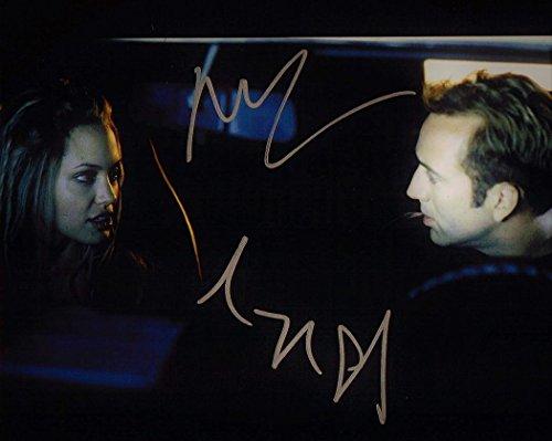 ★直筆サイン◆60セカンズ◆GONE IN 60 SECONDS (2000) ★ニコラス ケイジ as メンフィス レインズ ★Nicolas Cage as Memphis Raines ★アンジェリーナ ジョリー as スウェイ ★ Angelina Jolie as Sara 'Sway' Wayland ★豪華2名♪