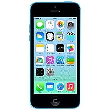 アップル iPhone 5c 32GB blue/ブルー/青色 docomo/ドコモ