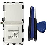 Toopower New Replacement Battery EB-BT800FBE (3.8V 30.02WH 7900MAH) For SAMSUNG GALAXY TAB S 10.5 inch EB-BT800FBE SM-T800 T801 T805 AA1F625ES/7-B + Free Tools [並行輸入品]