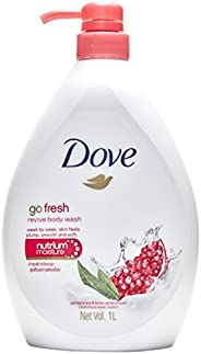 Dove Revive Pomegranate and Lemon Verbena Body Wash, 1L