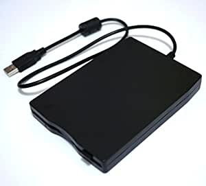 [Simble] USB 外付け フロッピー ディスク ドライブ 3.5 インチ FDD Floopy Drive ( Windows PC Macbook 対応) 6ヵ月保障付き