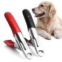 トリマークリッパーステンレスNB0344グルーミング新安いペット動物犬猫ネイルクリッパーはさみペットの足ケアネイル:ブラック