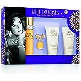 Elizabeth Taylor White Diamonds 4 Piece Gift Set for Women, 4 count