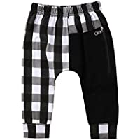 Olleasily Kids Little Baby Boys Cotton Hiphop Harem Pants Sweatpants Sport Jogger