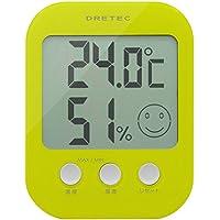 ドリテック デジタル温湿度計 オプシス グリーン O-230GN