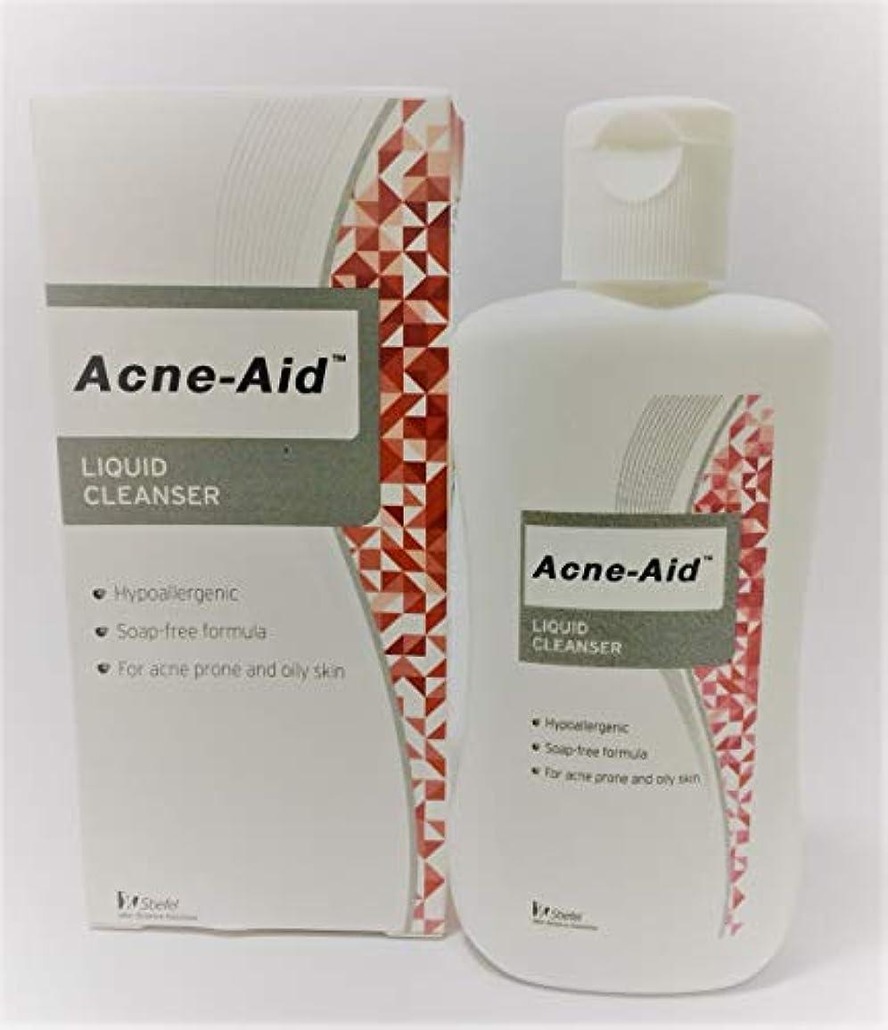 実際に平和文明Acne Aid液体クレンザー100 ml。(1 box)