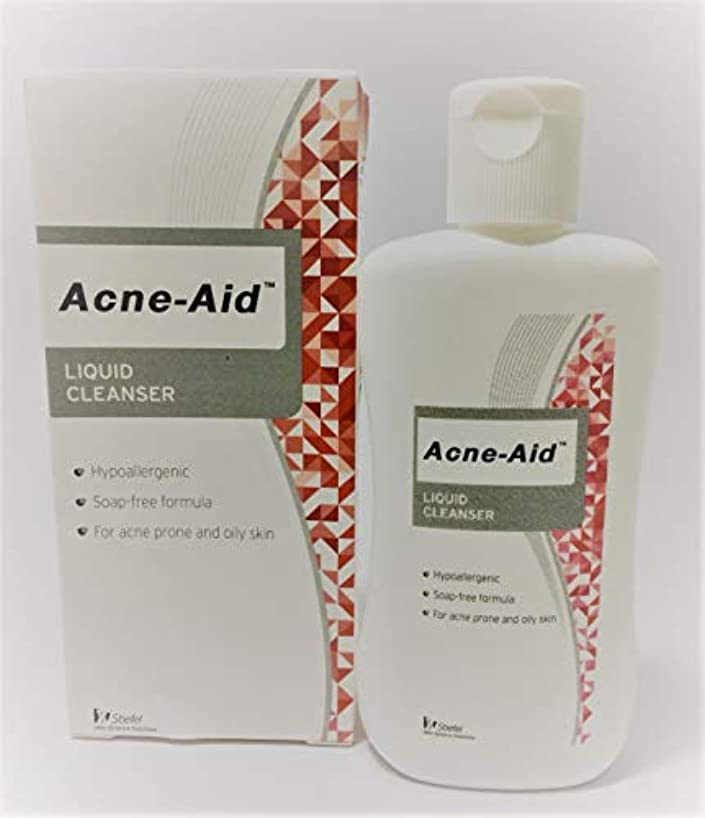熱メダリストやさしいAcne Aid液体クレンザー100 ml。(1 box)