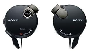 SONY オープン型ワイヤレスヘッドホン Bluetooth対応 マイク付 耳掛け式 ブラック DR-BT140Q/B