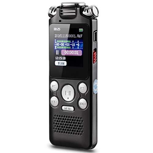 ボイスレコーダー AmzAre ICレコーダー 録音機 トリプルマイク ノイズキャンセリング技術 内蔵スピーカー 軽量化 超小型 高音質 充電式バッテリー 長期間録音 MP3プレーヤー 操作便利