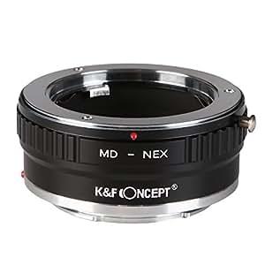 K&F Concept レンズマウントアダプター KF-SRE2 (ミノルタMD・MC│SRマウントレンズ → ソニーEマウント変換)