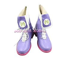 【Cos Life】ネプテューヌ コスプレ靴/ブーツ コスチューム コスプレ衣装 オーダーサイズ製作可能(22.5cm)