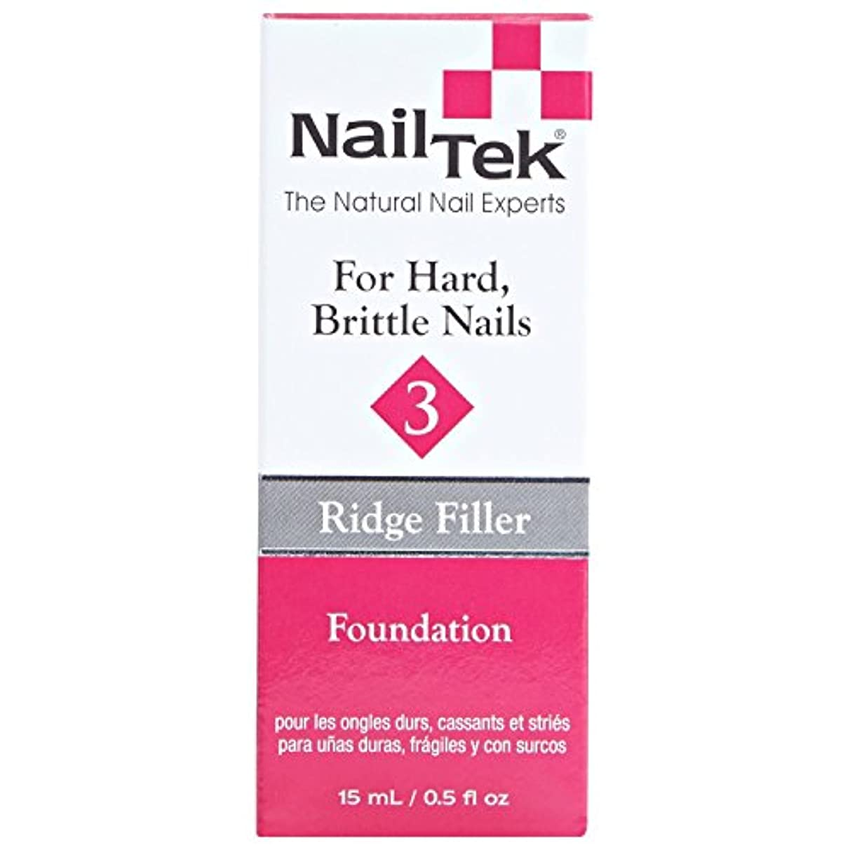 請求書検出器殺しますNail Tek Treatment - Ridge Filling - Foundation 3-0.5oz / 15ml