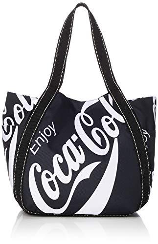 [コカ・コーラ] トートバッグ マザーズバッグ A3サイズ対応 COK-1001 ブラック