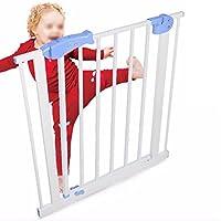 幼児の子供の安全のゲートベビーの階段のガードレールの安全な柵ペットのフェンスの隔離ドアのバー (サイズ さいず : 75-84cm)