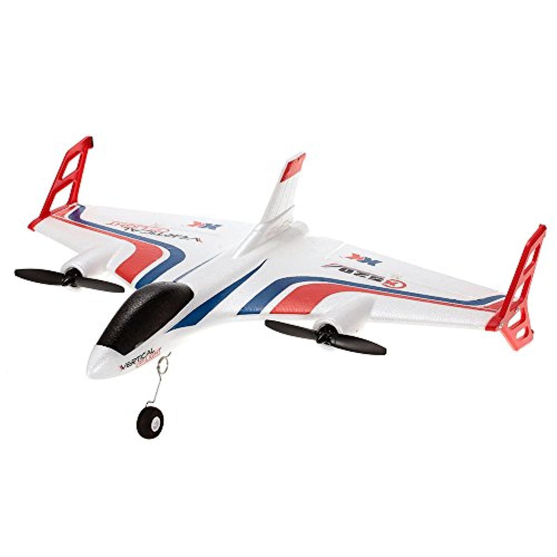 Goolsky XK X520 飛行機 VTOL 固定翼 垂直離陸 着陸 RCドローン モードスイッチ付 2.4G 6CH 3D / 6G