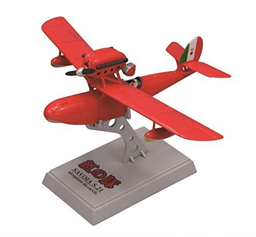 ファインモールド 紅の豚 サボイアS.21 試作戦闘飛行艇 1/72スケール 塗装済み完成品 62501の詳細を見る