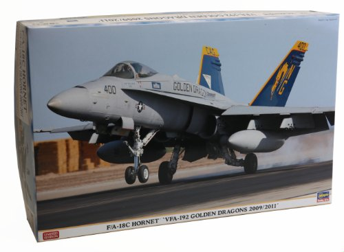 """1/48 飛行機シリーズ F/A-18C ホーネット """"VFA-192 ゴールデンドラゴンズ 2009/2011"""""""