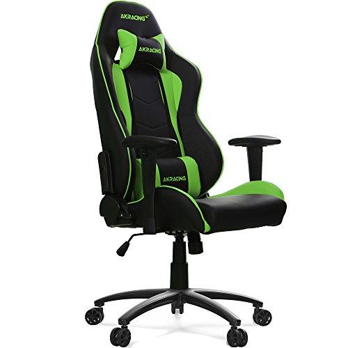 AKRACING ゲーミングチェア NITRO-GREEN(緑色)