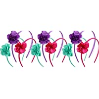9 Pack Flower Crown Headband Prince Headdress Prom Party Performance Props Photo Props Headband Hair Ring Hair Accessories