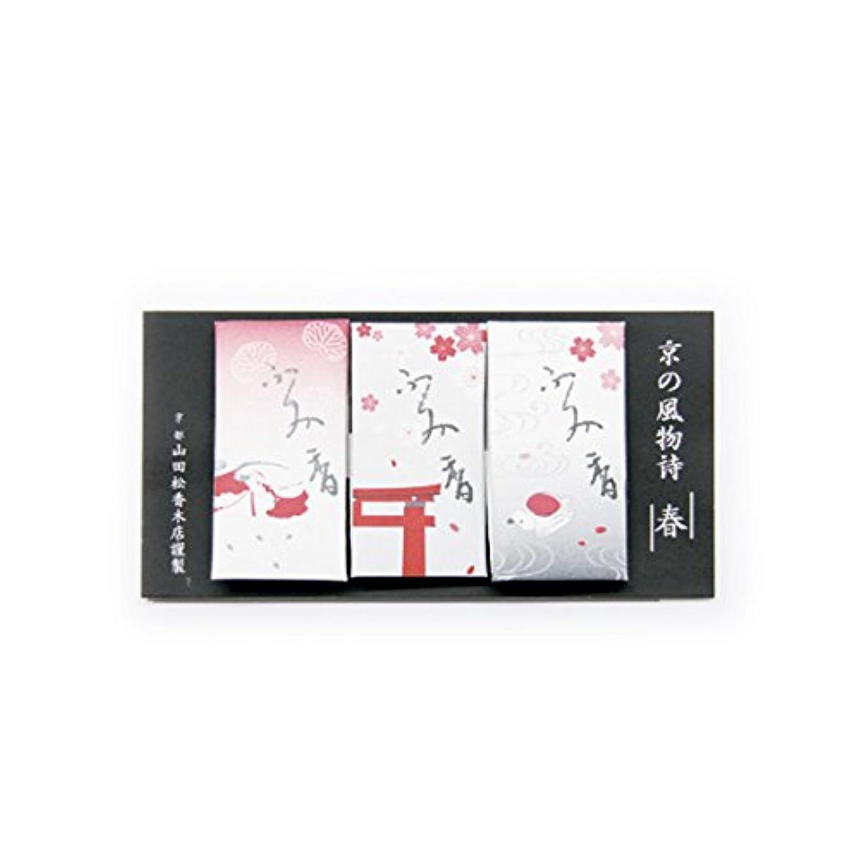 文香 京の風物詩 春