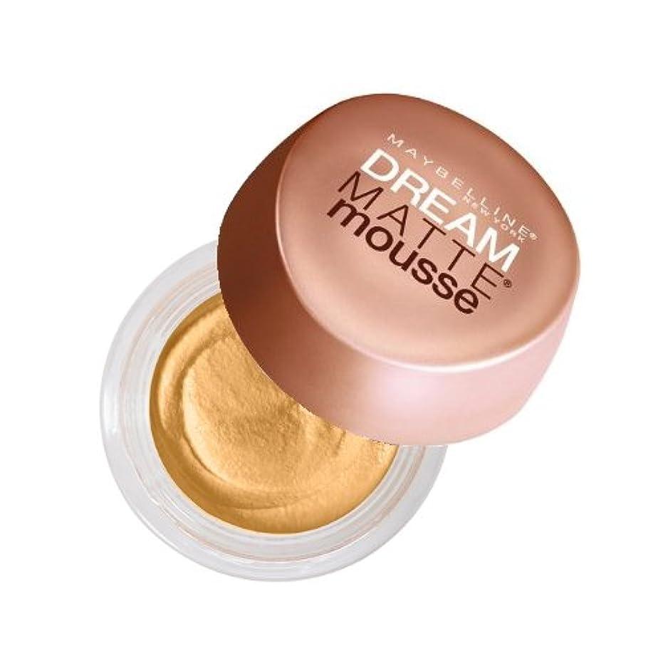 チャーター抜粋通知する(6 Pack) MAYBELLINE Dream Matte Mousse - Nude (並行輸入品)