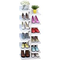 小さな木製の靴の棚、居間の入り口の家庭用靴のラック多層の多機能靴の棚 (サイズ さいず : 40 * 30 * 113CM)