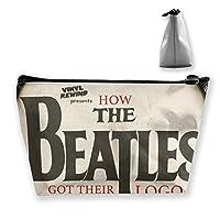 How The Beatles ビートルズ 収納バッグ 化粧バッグ 化粧ポーチ 収納 ラダー バスルームポーチ 旅行用品 大容量 軽量 防水 筆記具 小物収納袋 男女兼用 ユニークバック