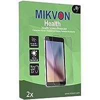 2x Mikvon Health Panasonic Lumix DMC-ZX3 雑菌防止加工・ブルーライトカットの画面保護フィルム アクセサリー付きのリテールパッケージ