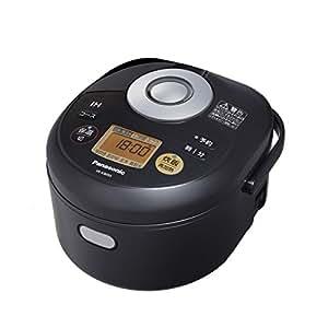 パナソニック IHジャー炊飯器 3合 ブラック SR-KB055-K