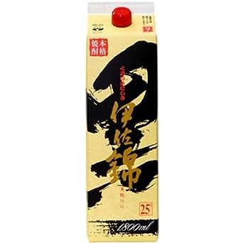 大口酒造 黒伊佐錦 芋 25度 パック 1800ml