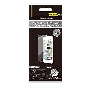 Simplism iPod touch (5th) 液晶保護強化ガラス 光沢 TR-PFTC14-GLCC