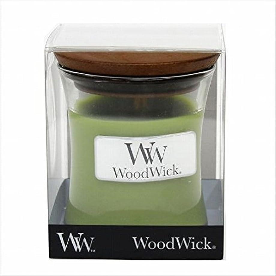 尾ミント駐地カメヤマキャンドル( kameyama candle ) Wood Wick ジャーS 「 トランクィリティ 」