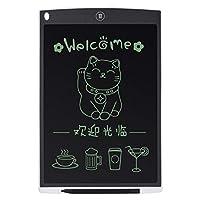 マウスパッド及び定規が付いている超薄い12インチLCDデジタルの執筆タブレットのデッサン板スケッチパッドの電子グラフィック板