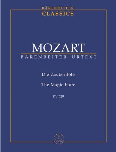 モーツァルト: オペラ 「魔笛」 KV 620/ベーレンライター社/新モーツァルト全集に基づく全曲版スコア
