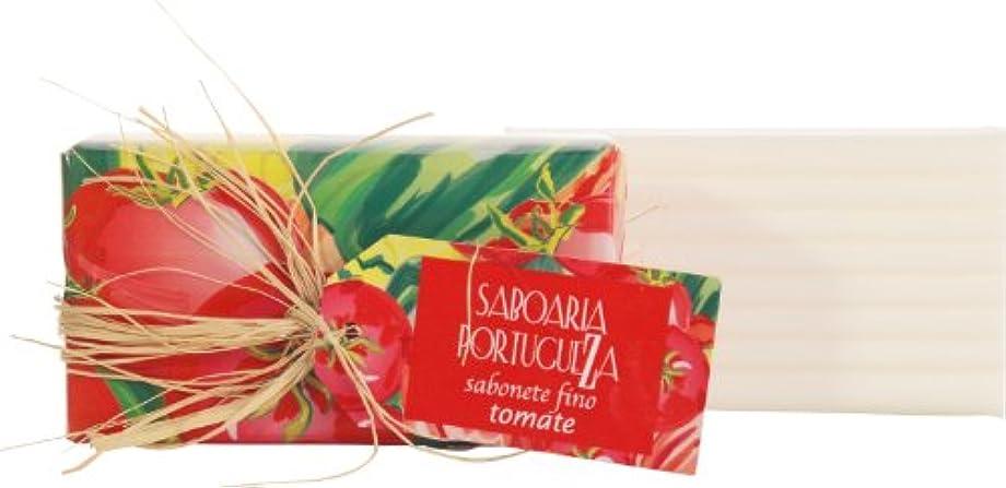 文献振幅生まれサボアリア ソープ180g トマト
